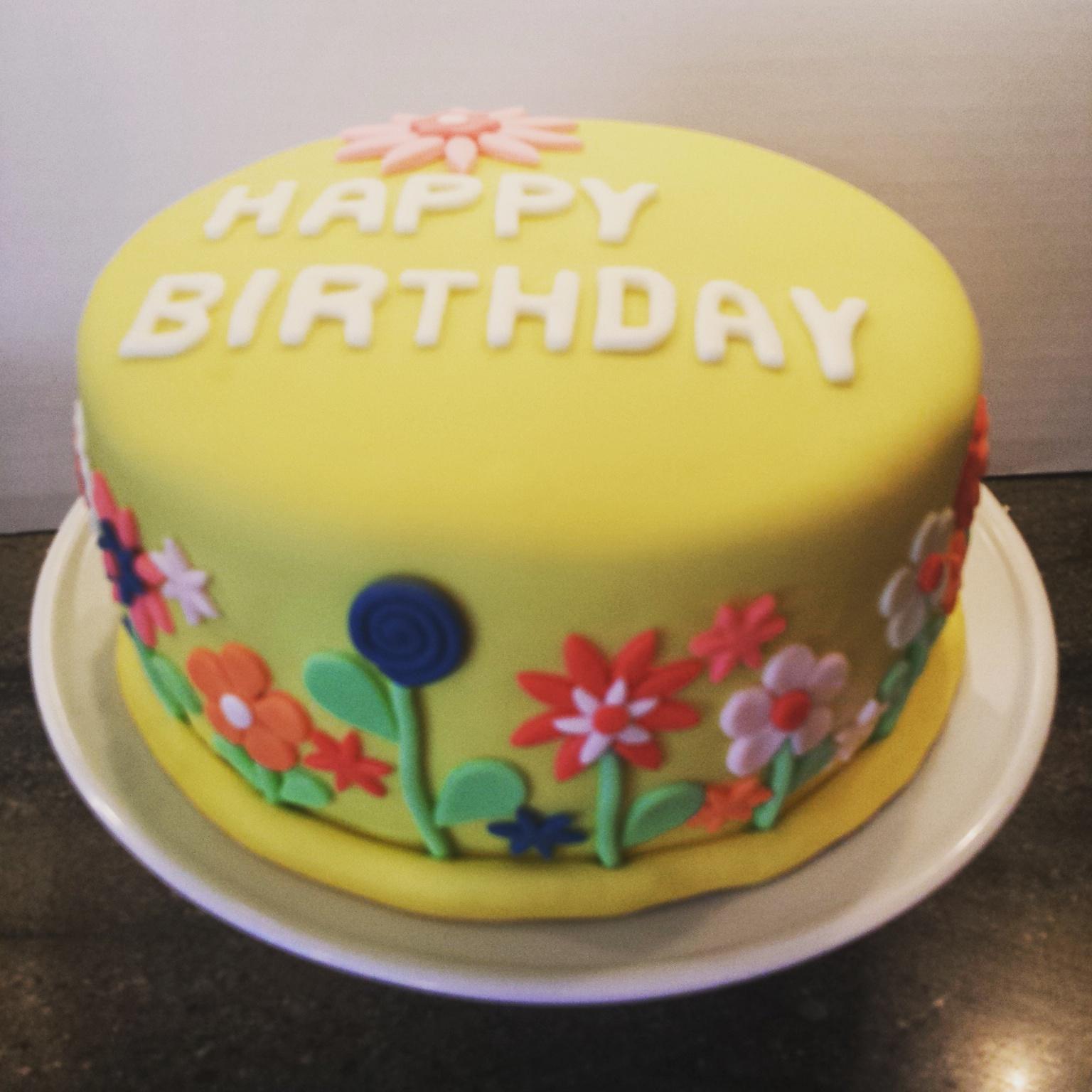 Flower cake mightylinksfo
